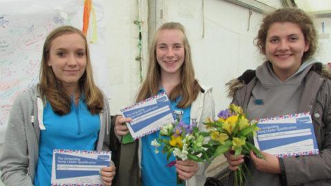 Girl Guide Volunteers Honoured