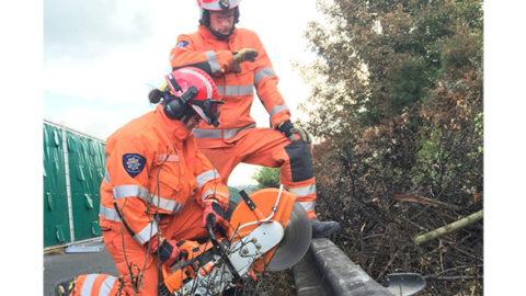 Saving Lives Firefighter Charlotte Eastwell