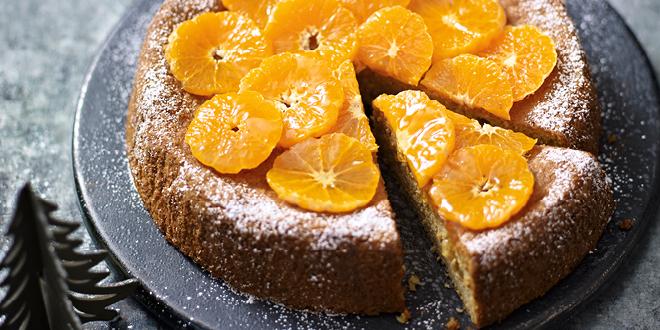 Spiced orange & almond cake