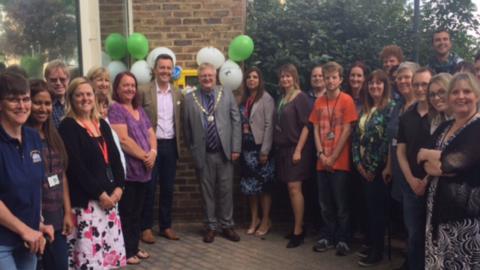 Lloyds Launches Community Defibrillator In Haywards Heath