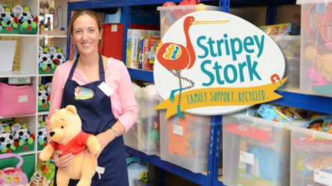 Meet The Caring Stripey Stork