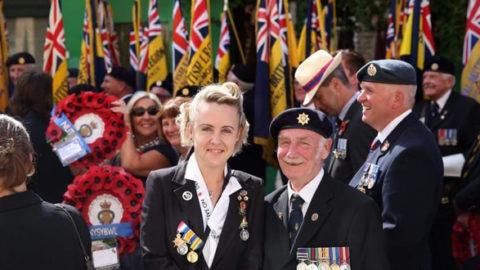 Horley Royal British Legion Members Pay Tribute To War Dead