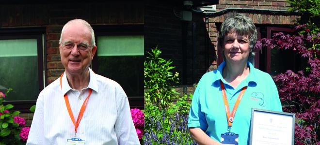 St Catherine's Hospice Volunteers Win Mayor Awards
