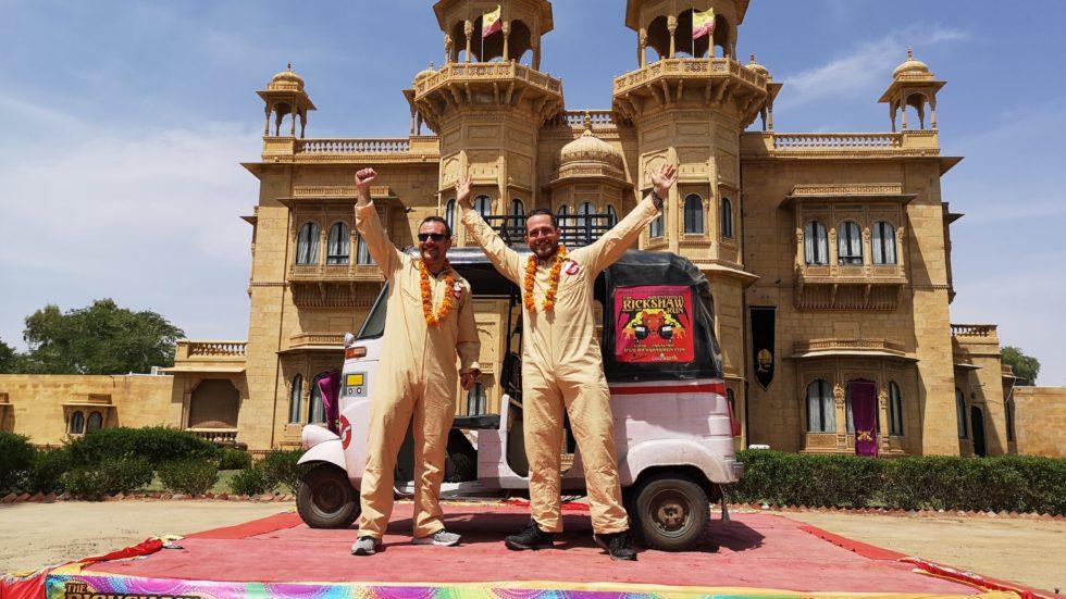 Crawley Down's Toby & Tim's Rickshaw Passage To India