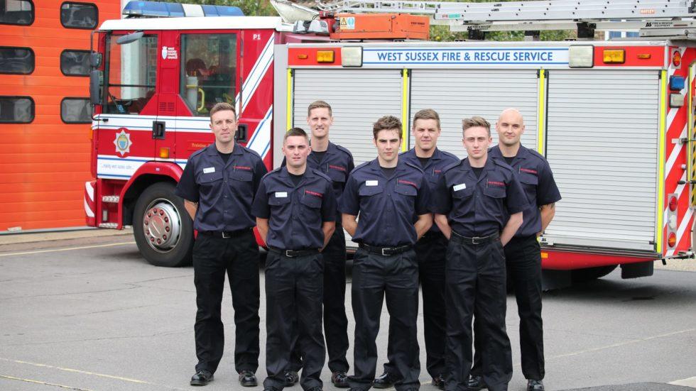 New Recruit Joins East Grinstead's Firefighting Ranks