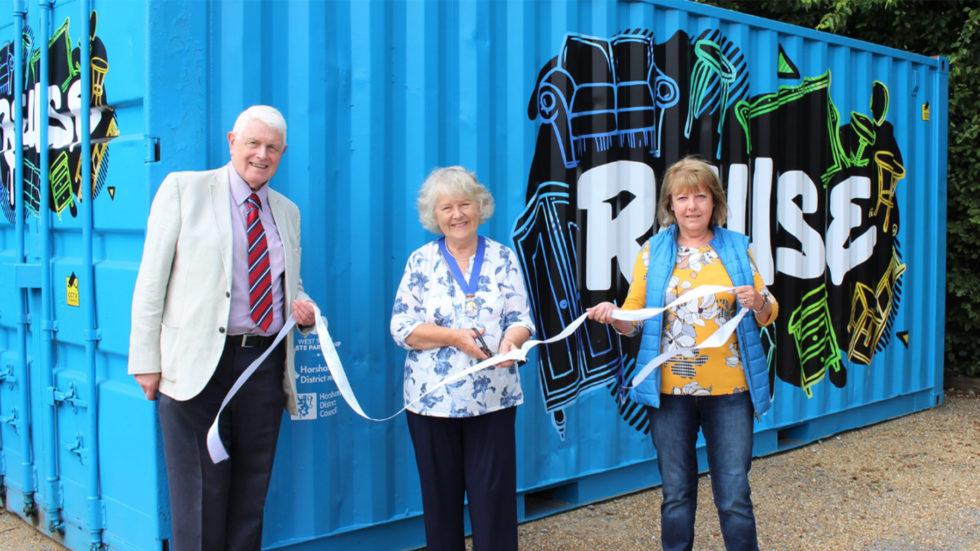 Reuse Hub Declared Open In Horsham District